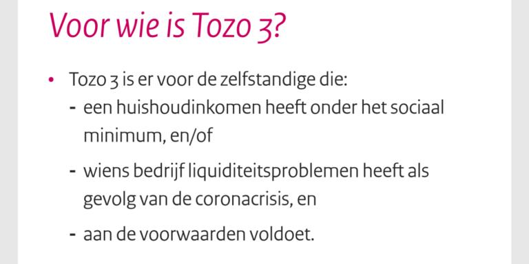 Deel uit visual Tozo 3